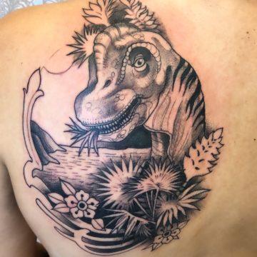 Tatuagem dinossauro
