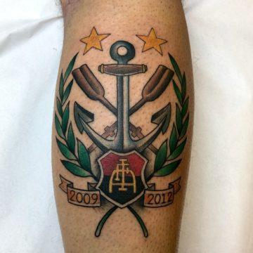 âncora tatuagem