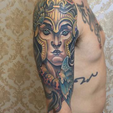 Rostp neotradicional tatuagem