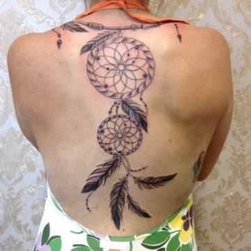 filtro dos sonhos black tatuagem