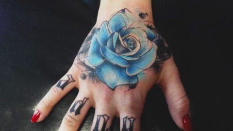 tatto caligrafia