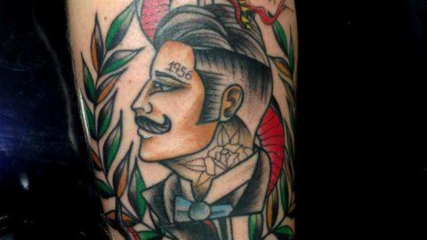 tattoo homem neo tradicional