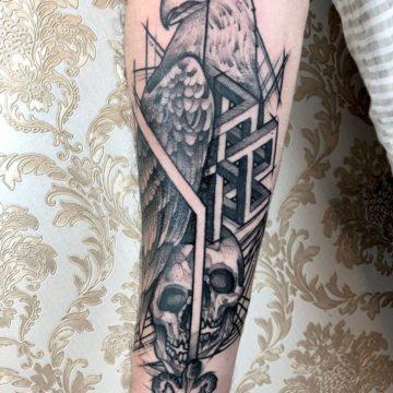 tatuagem-blackwork-aguia