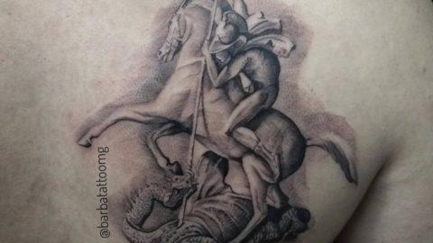 tatuagem-blackwork-sao-jorge