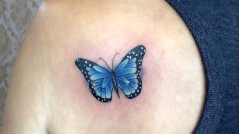 tatuagem-borboleta-azul
