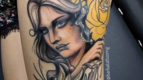 tatuagem-neotradicional-woman-mulher