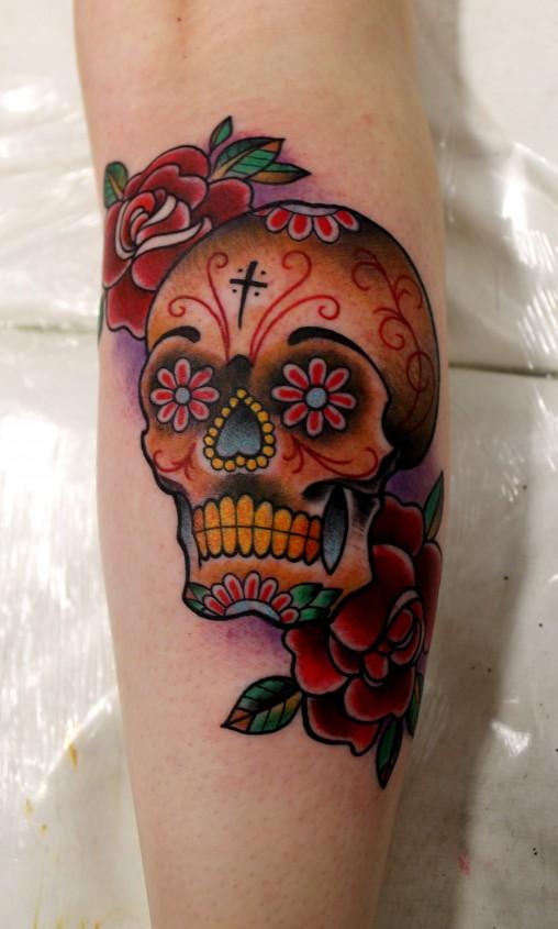 Caveira-mexicana-tatuagem