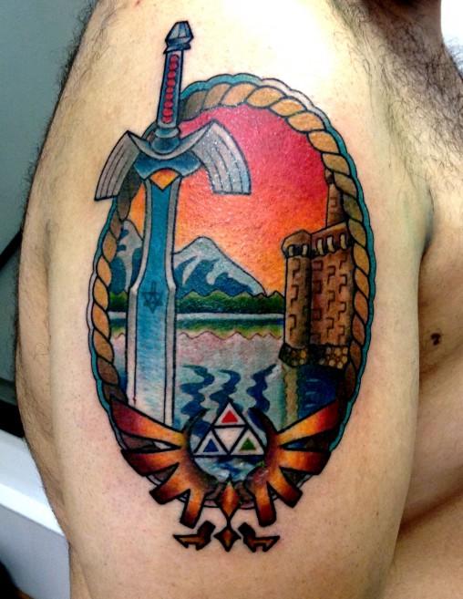 Zelda-tatuagem