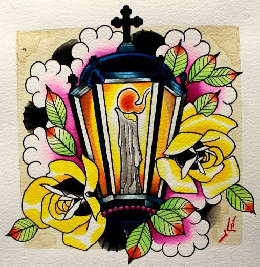 lustre-rosas-pintura-tatuagem