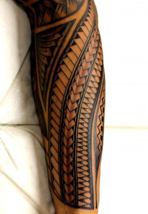 samoan-braco-tatuagem